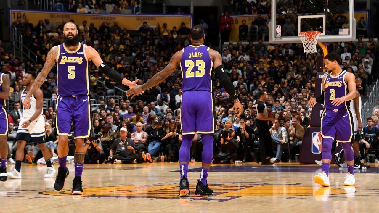 Melhores momentos: Timberwolves 110 x 114 Lakers, pela NBA