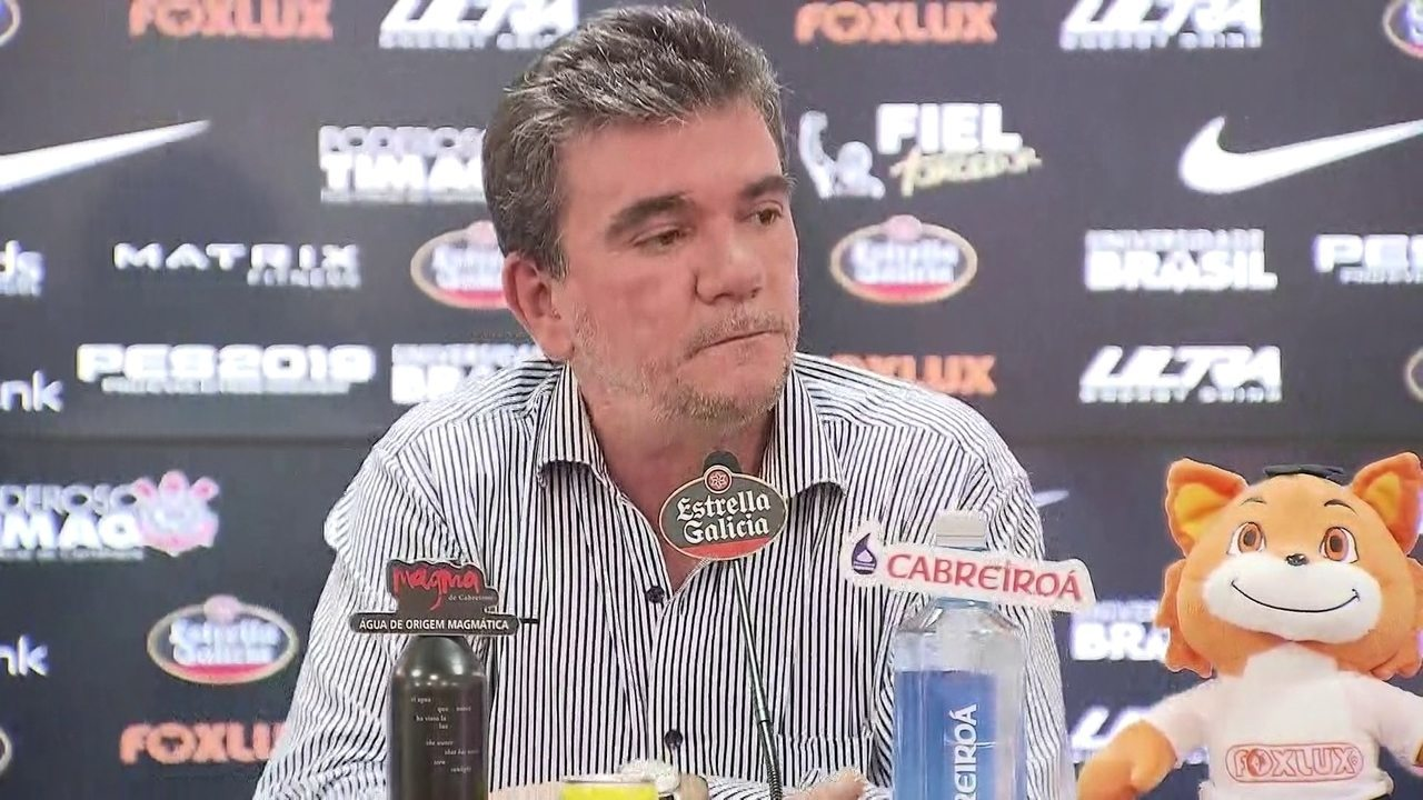 Andrés Sánchez comenta sobre o trabalho de Jair Ventura no Corinthians:
