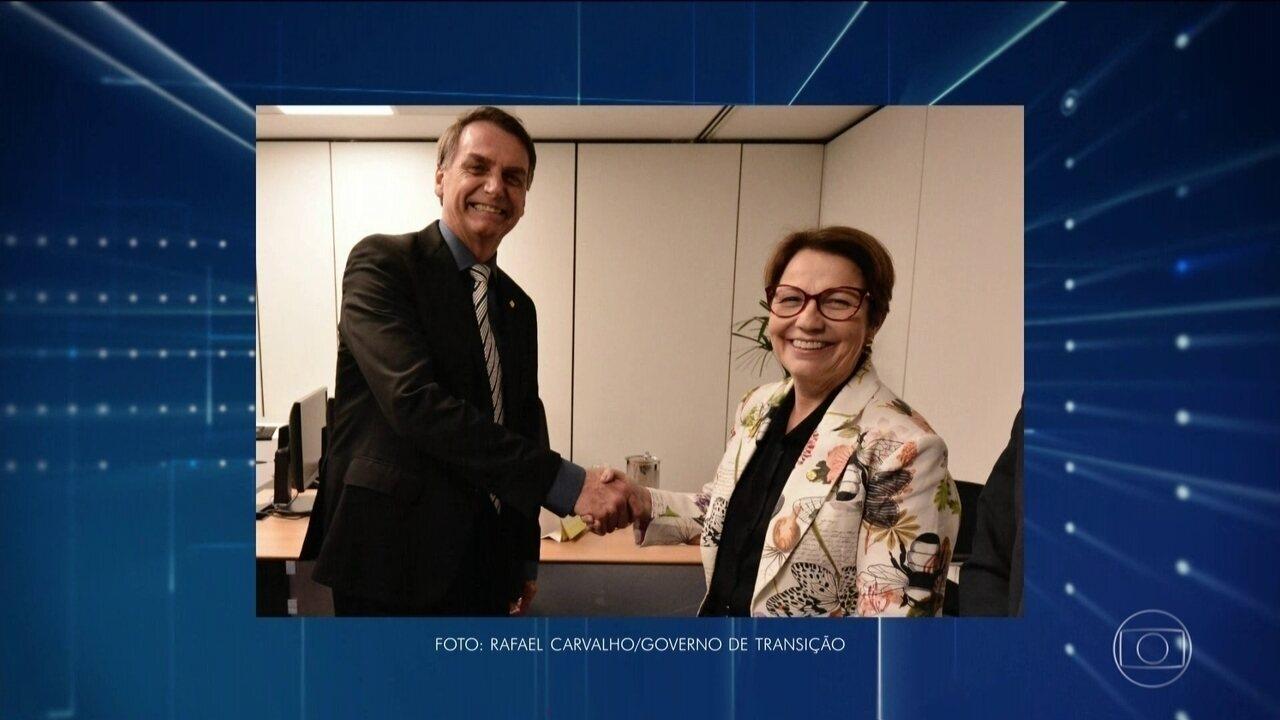 Bolsonaro volta a se reunir com a equipe de transição em Brasília