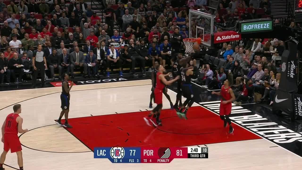 Melhores momentos: Portland Trail Blazers 116 x 105 Los Angeles Clippers pela NBA