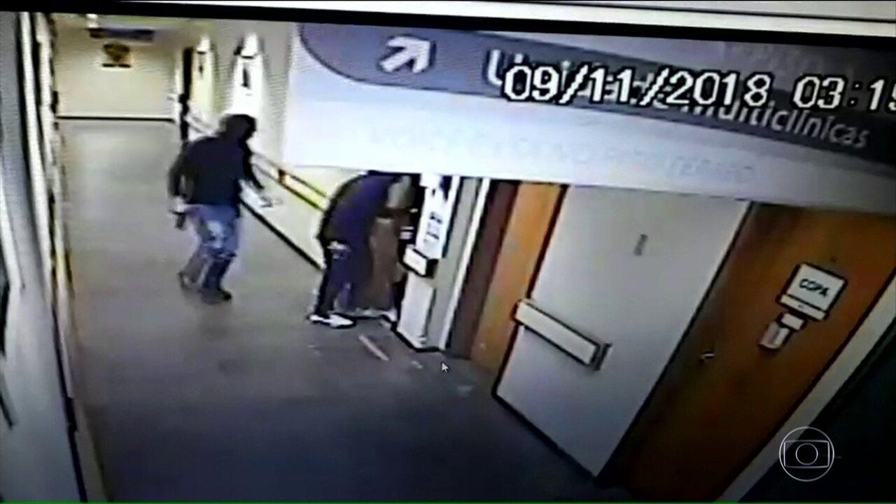 Criminosos entram em hospital e matam paciente por engano em São Leopoldo, RS
