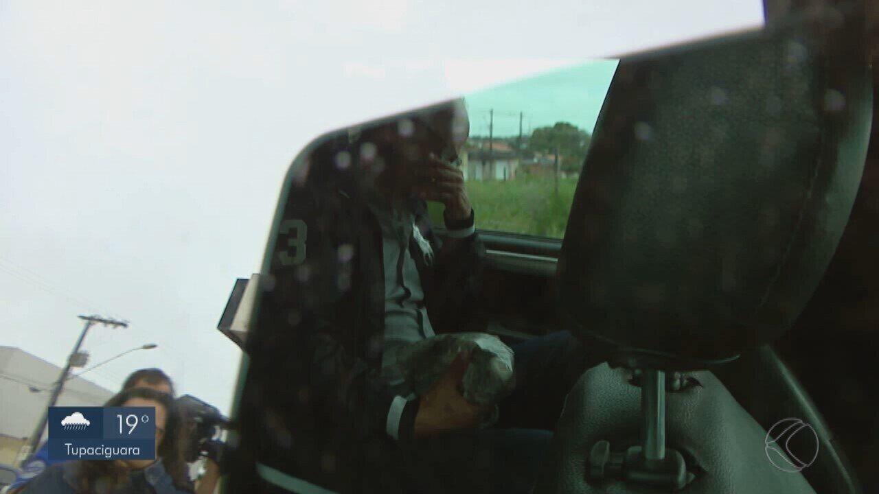 'Operação Capitu': Vice-governador de MG é levado para presídio em Uberlândia
