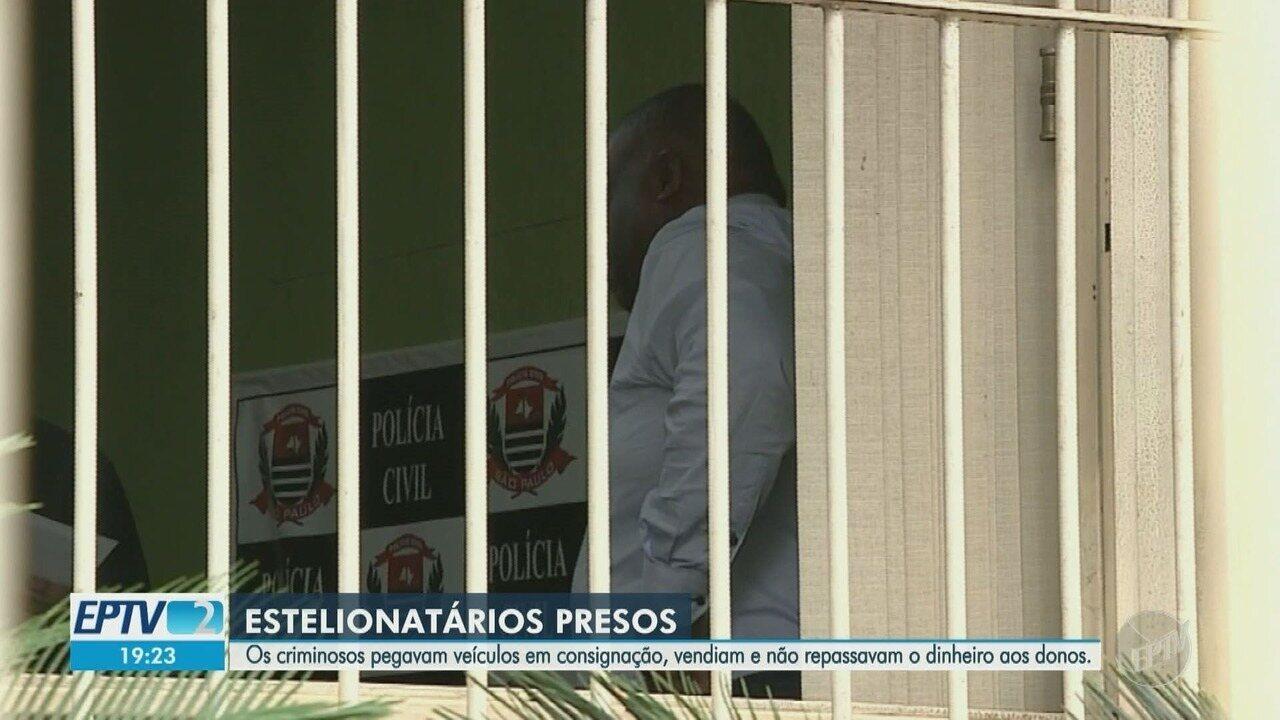 Polícia Civil prende suspeitos de aplicar golpe em clientes de carros de luxo