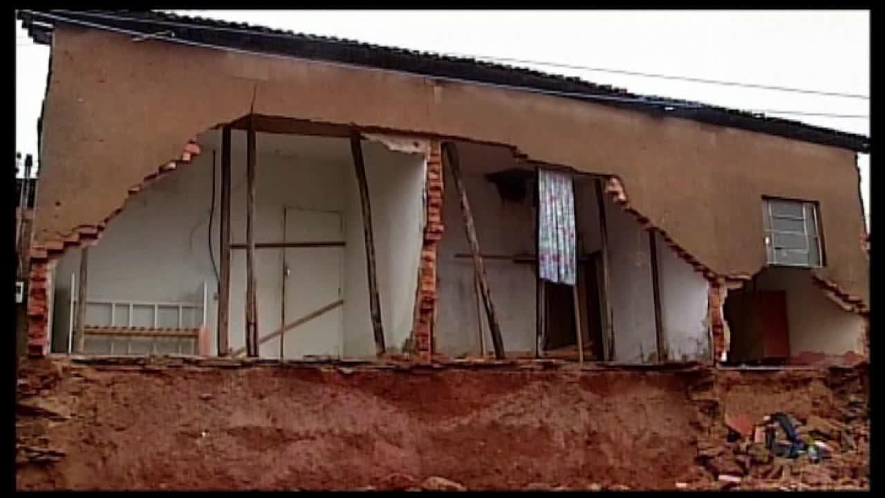 Temporais em Araxá causam prejuízos aos moradores