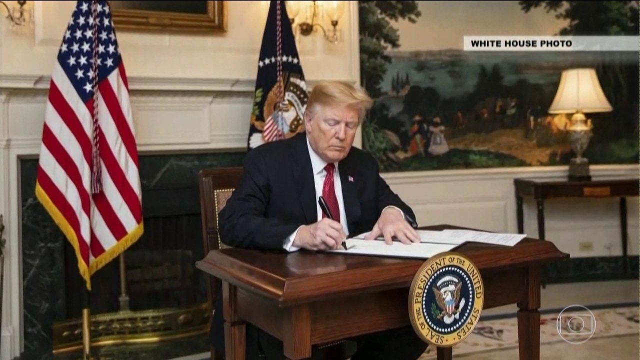 Presidente americano assina decreto que dificulta a vida dos imigrantes ilegais.