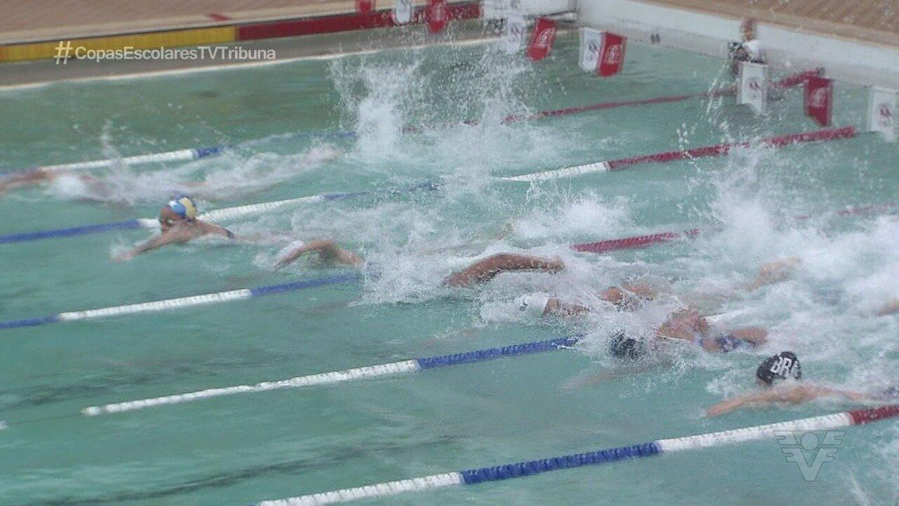Seleção brasileira feminina de pólo aquático comemora título sul-americano