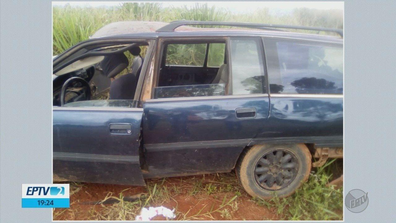 Passageiro morre e motorista fica gravemente ferido em acidente em Delfinópolis (MG)