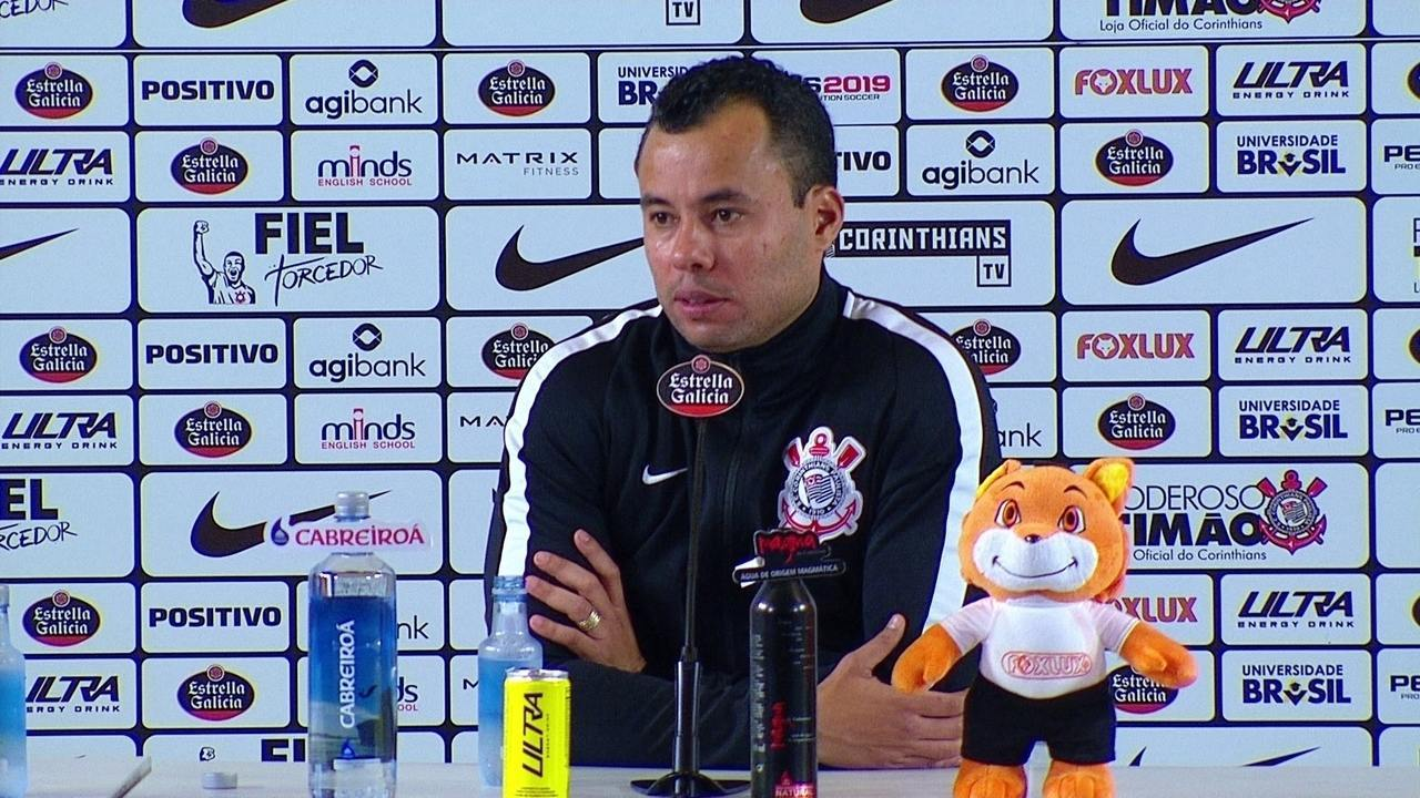 Assista a coletiva de Jair Ventura após o empate entre Corinthians e São Paulo
