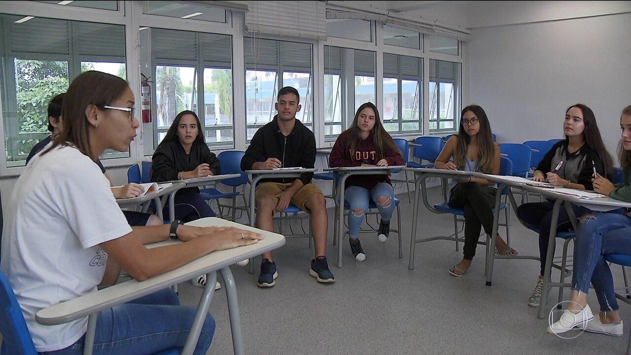 Estudantes de todo o Brasil se preparam para o último dia de provas do Enem