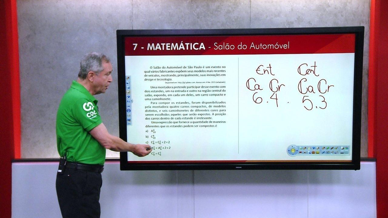 G1 TOP 10 Enem: 7 - Matemática