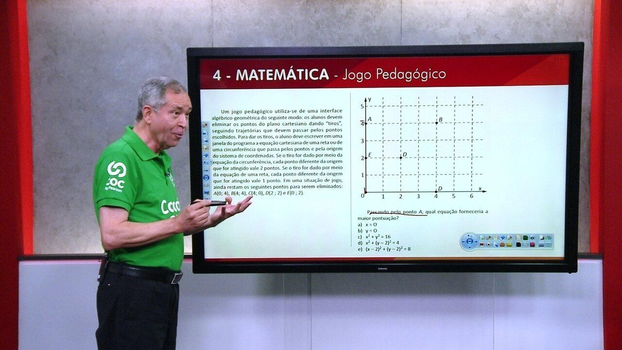 G1 TOP 10 Enem: 4 - Matemática