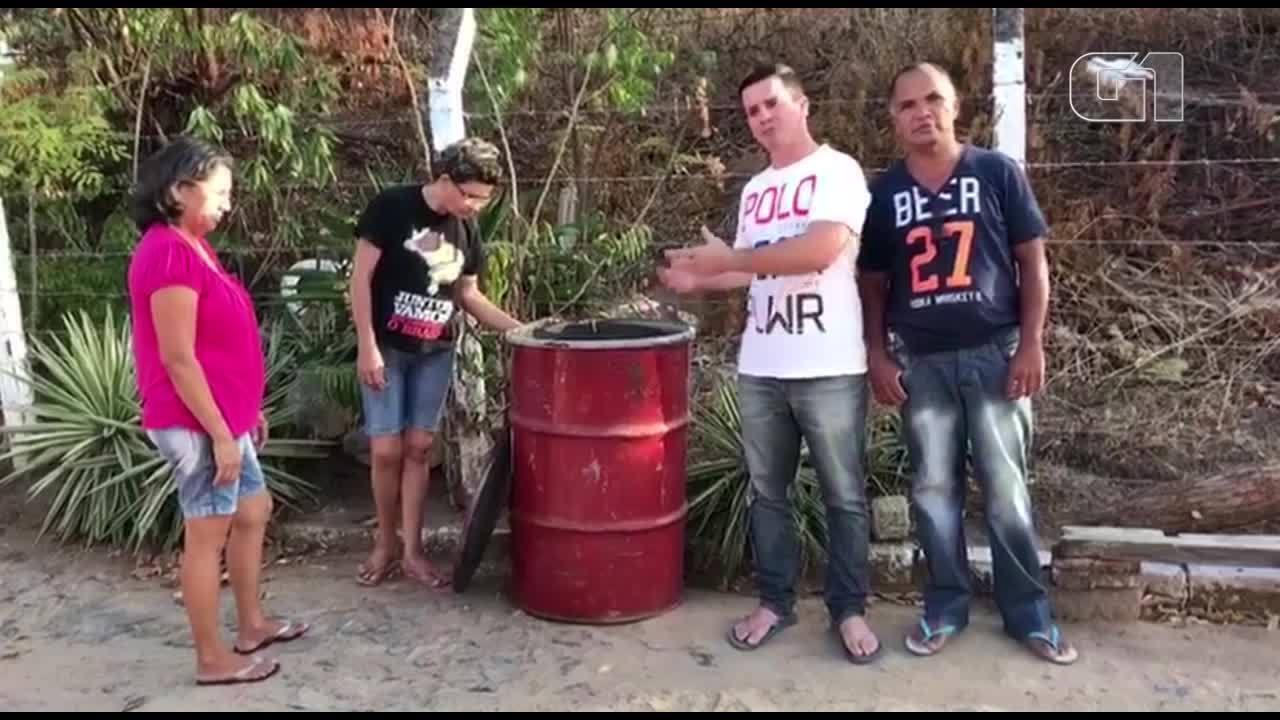 Vereador compra tambor de lixo para comunidade e vira alvo de chacota