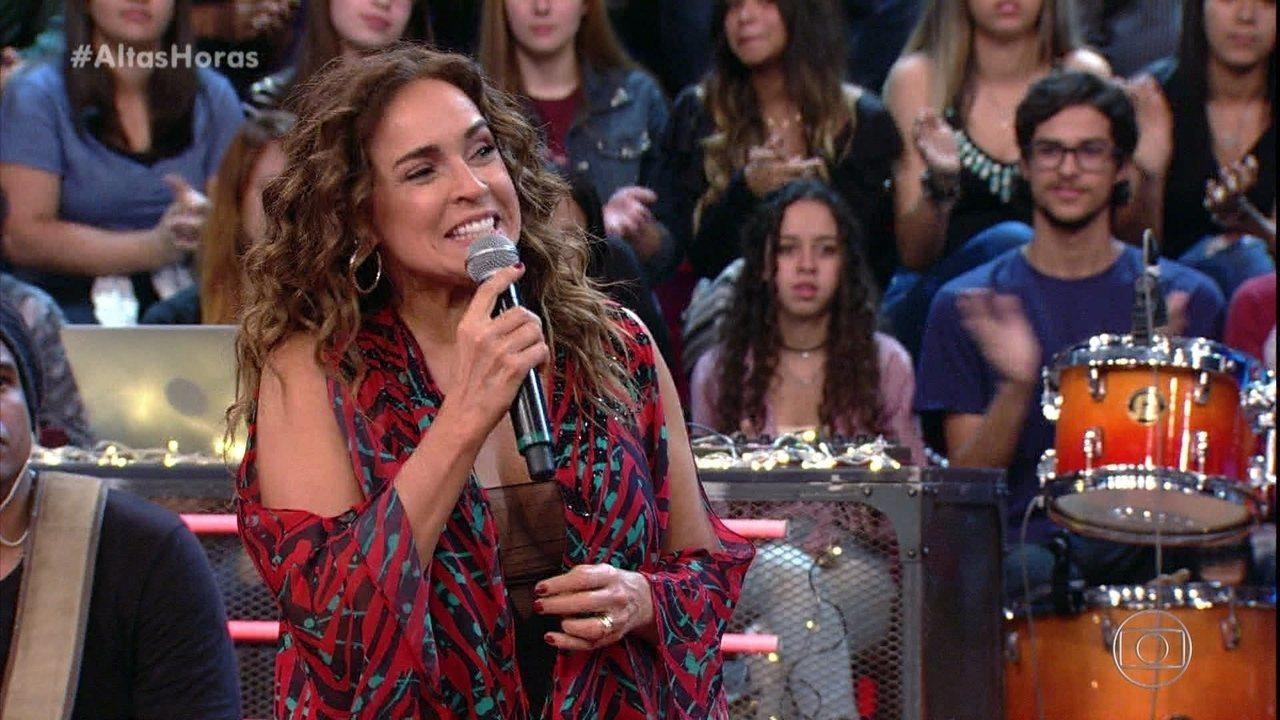 """Daniela Mercury improvisa """"Águas de Março"""" com I Koko"""