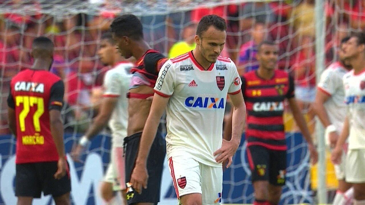 Melhores momentos  Sport 0 x 1 Flamengo pela 35ª rodada do Brasileirão d7f0615d438d5