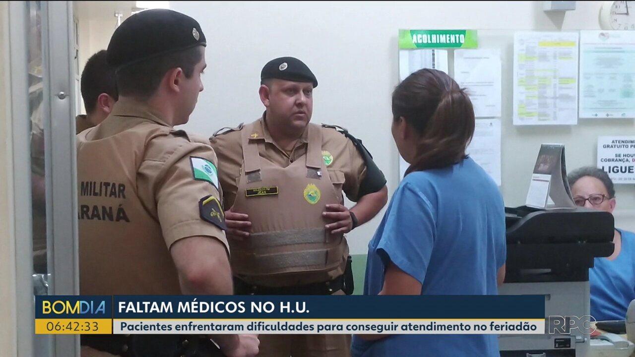 Pacientes enfrentam dificuldades para conseguir atendimento no HU em Maringá