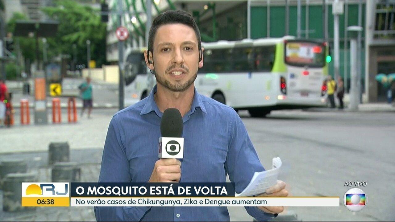 Mais de 36 mil casos de Chikungunya foram registrados em 2018 no Estado do Rio