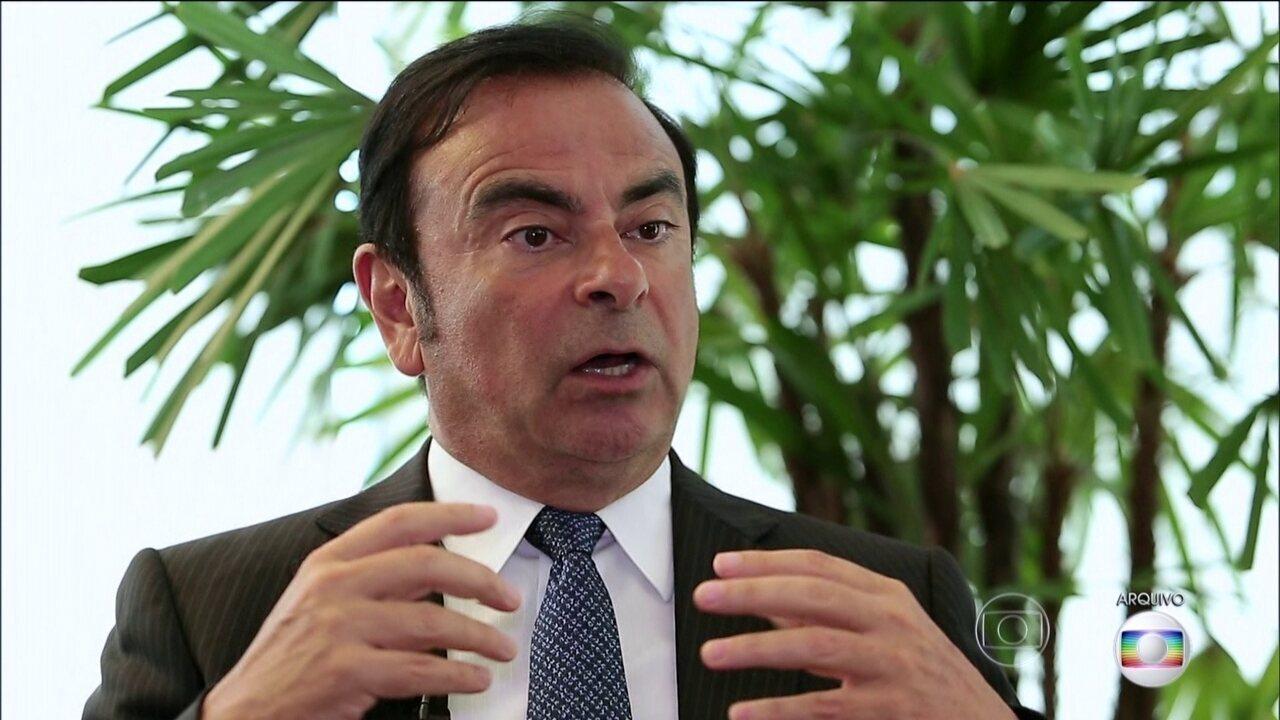 Executivo brasileiro, presidente do Conselho de Administração da Nissan, é preso no Japão