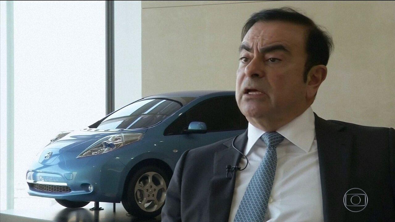 Brasileiro que preside conselho de administração da Nissan é preso no Japão