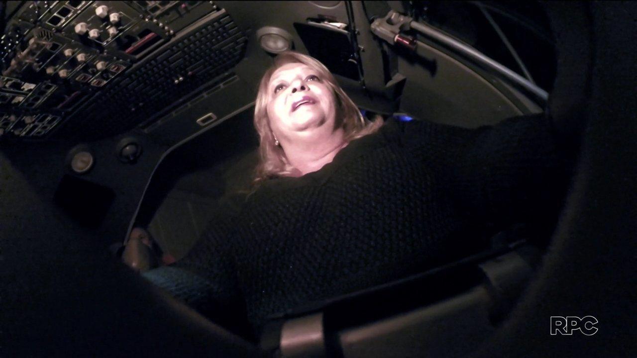 Eliane ficou traumatizada após passar mal em voo e buscou tratamento psicológico