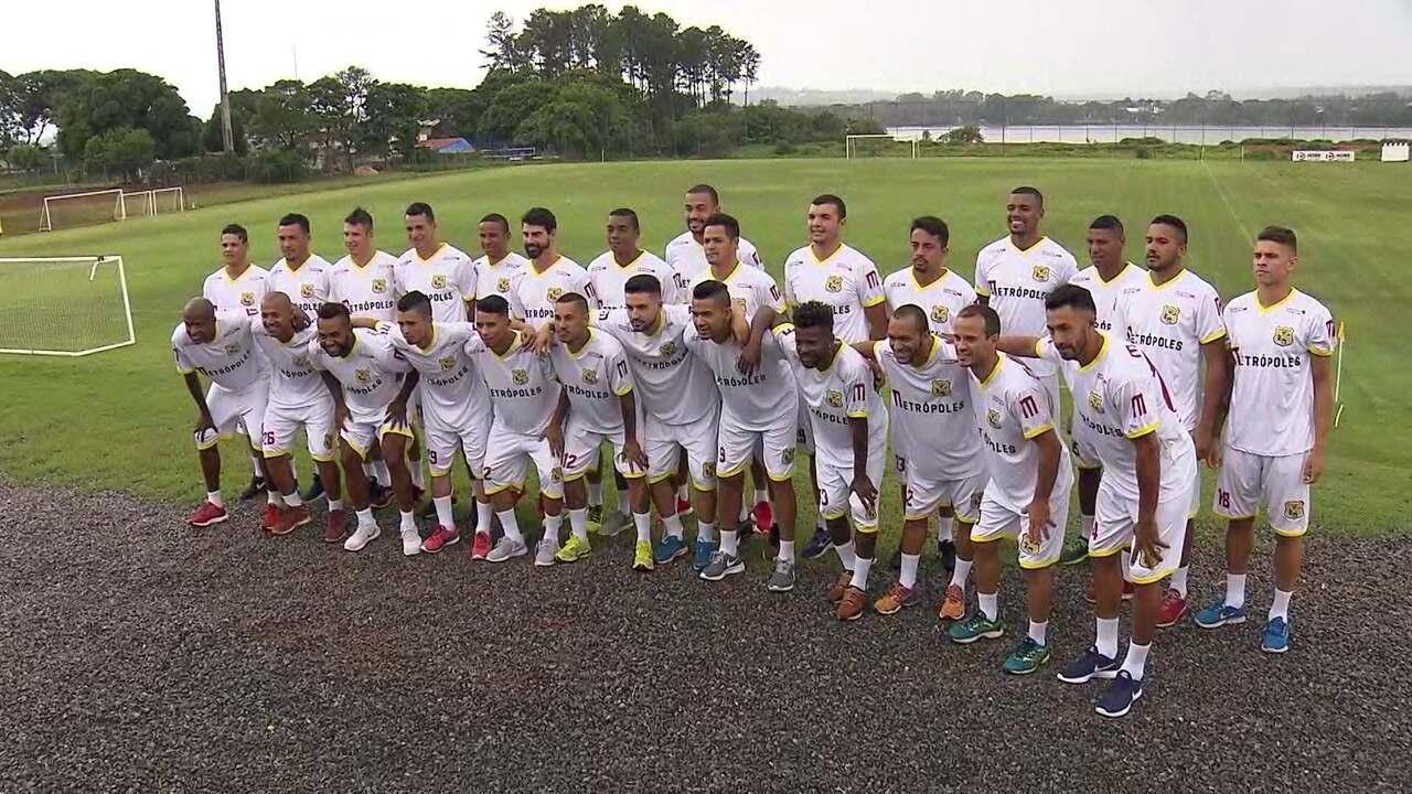 Apresentação do Brasiliense para a temporada