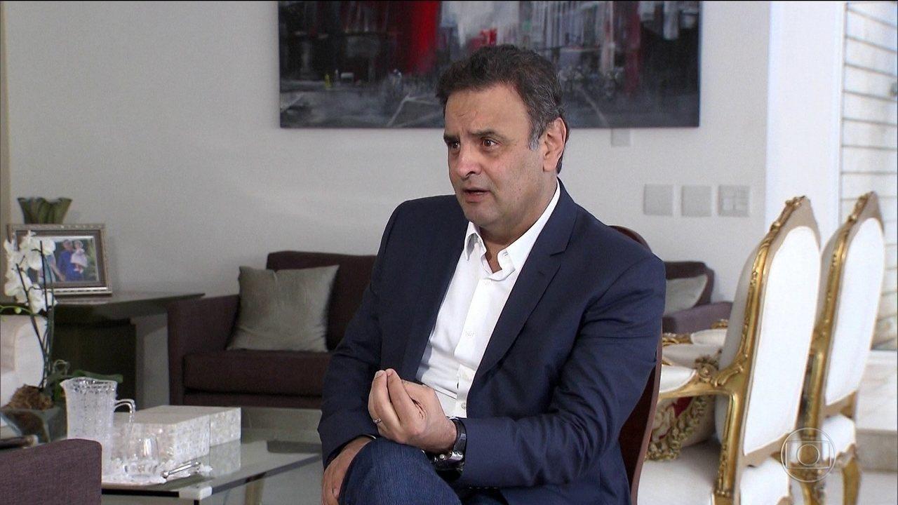 STF desarquiva inquérito contra Aécio sobre supostos desvios de dinheiro em Furnas