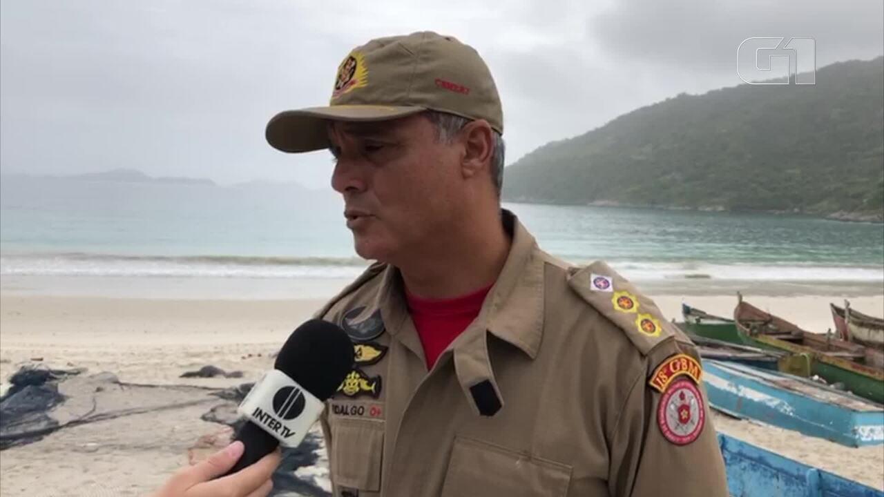 Comandante dos bombeiros esteve à frente do trabalho de buscas pela empresária de Florianópolis