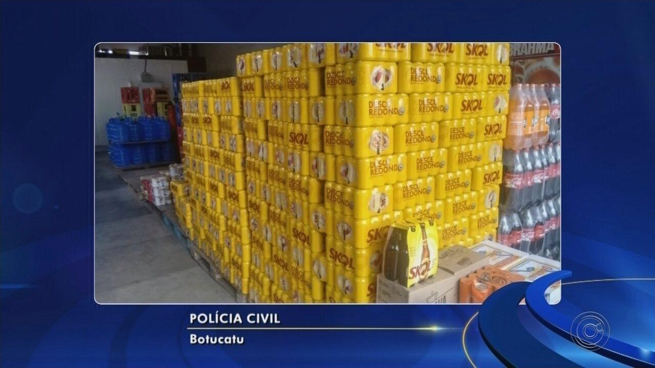 Motorista de Bofete inventa assalto para desviar carga de bebidas avaliada em R$ 160 mil