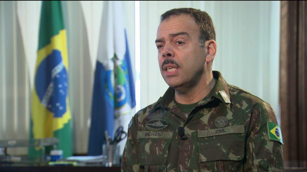 General Richard Nunes dá entrevista exclusiva à GloboNews