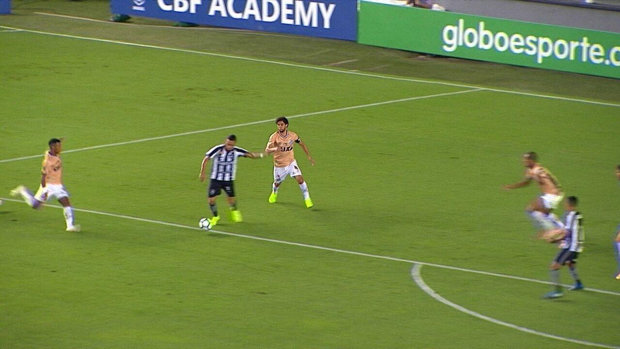 Melhores momentos de Santos 1 x 1 Botafogo pela 36ª rodada do Brasileirão  2018 ba0923fccc418