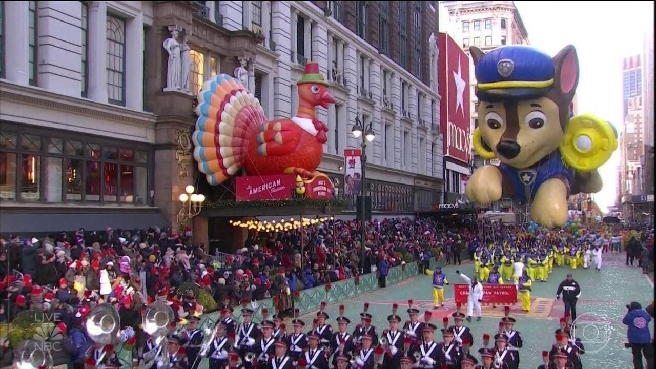 Desfile do dia de Ação de Graças em NY deve enfrentar o maior frio em 150 anos