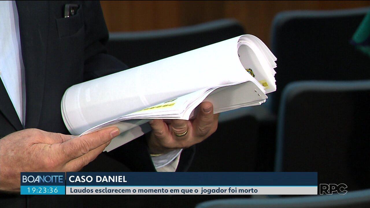Laudos apontam o momento em que o jogador Daniel foi morto