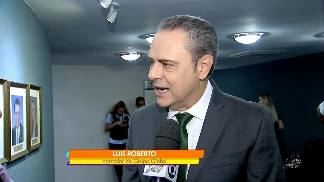 Narrador Da Globo Luís Roberto Recebe Título De Cidadão Cearense
