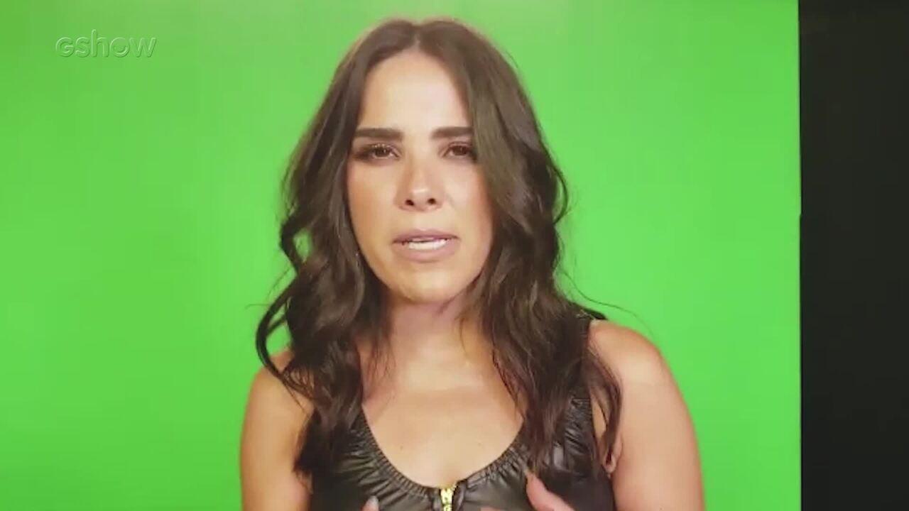 Wanessa Camargo fala sobre combate à Aids nos bastidores do 'Altas Horas'