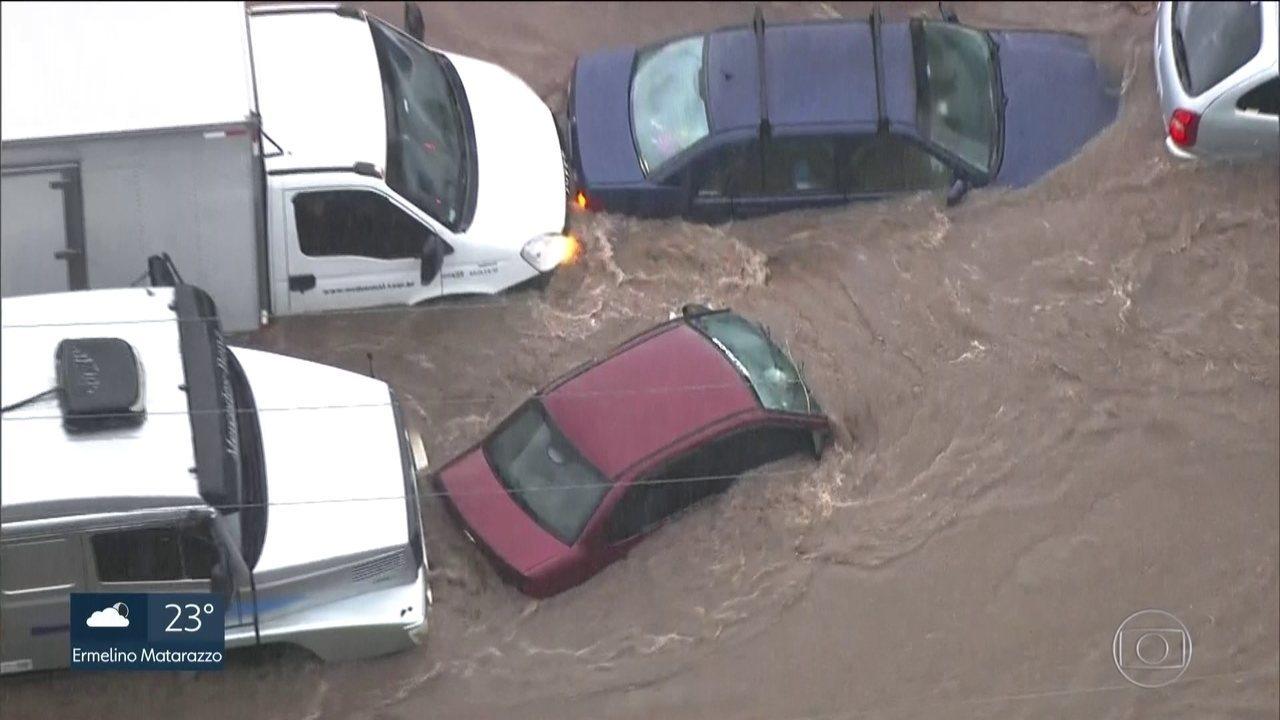Duas pessoas morrem durante a chuva em São Bernardo