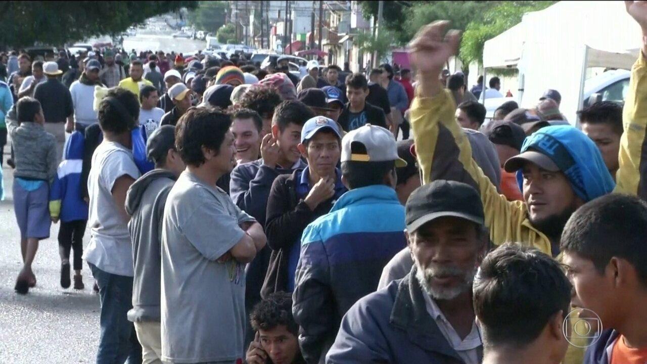 Governo eleito do México e EUA chegam a acordo sobre asilo