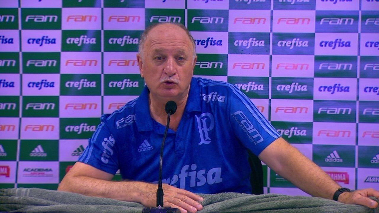 35541d6b45 Veja a entrevista coletiva de Felipão após a conquista do título brasileiro  pelo Palmeiras