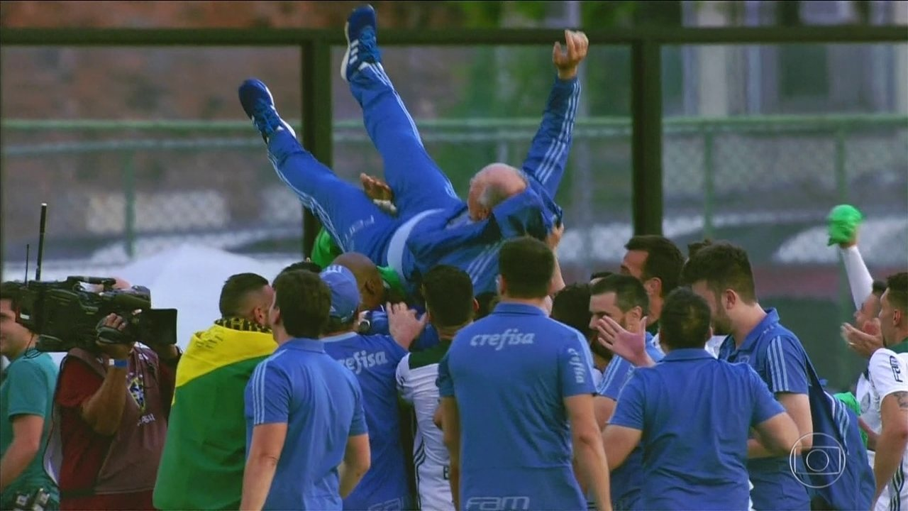 Gols do Fantástico: cavalinho do Palmeiras comemora título do Campeonato Brasileiro 2018