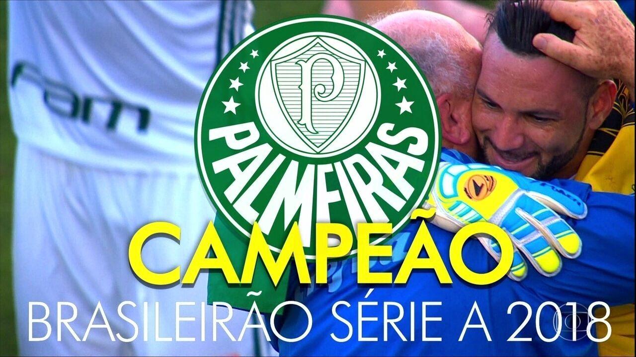 Palmeiras vence o Vasco e confirma título de 2018