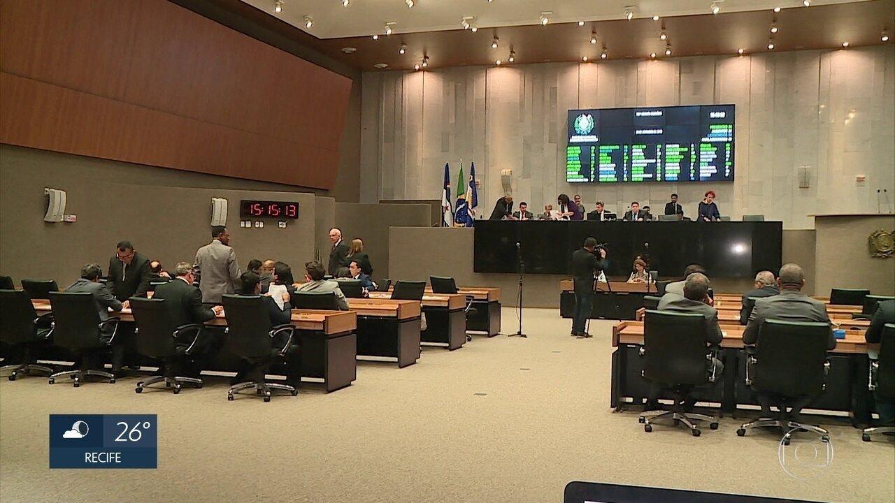 Deputados estaduais aprovam pacote de mudanças em impostos em primeira votação