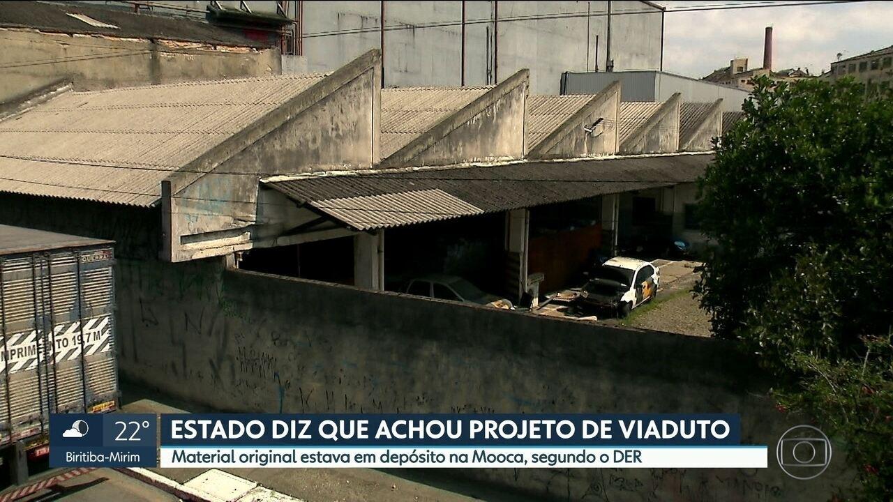 Vistoria em agosto não entrou no viaduto e indicou pedido de reformas feito pelo DER