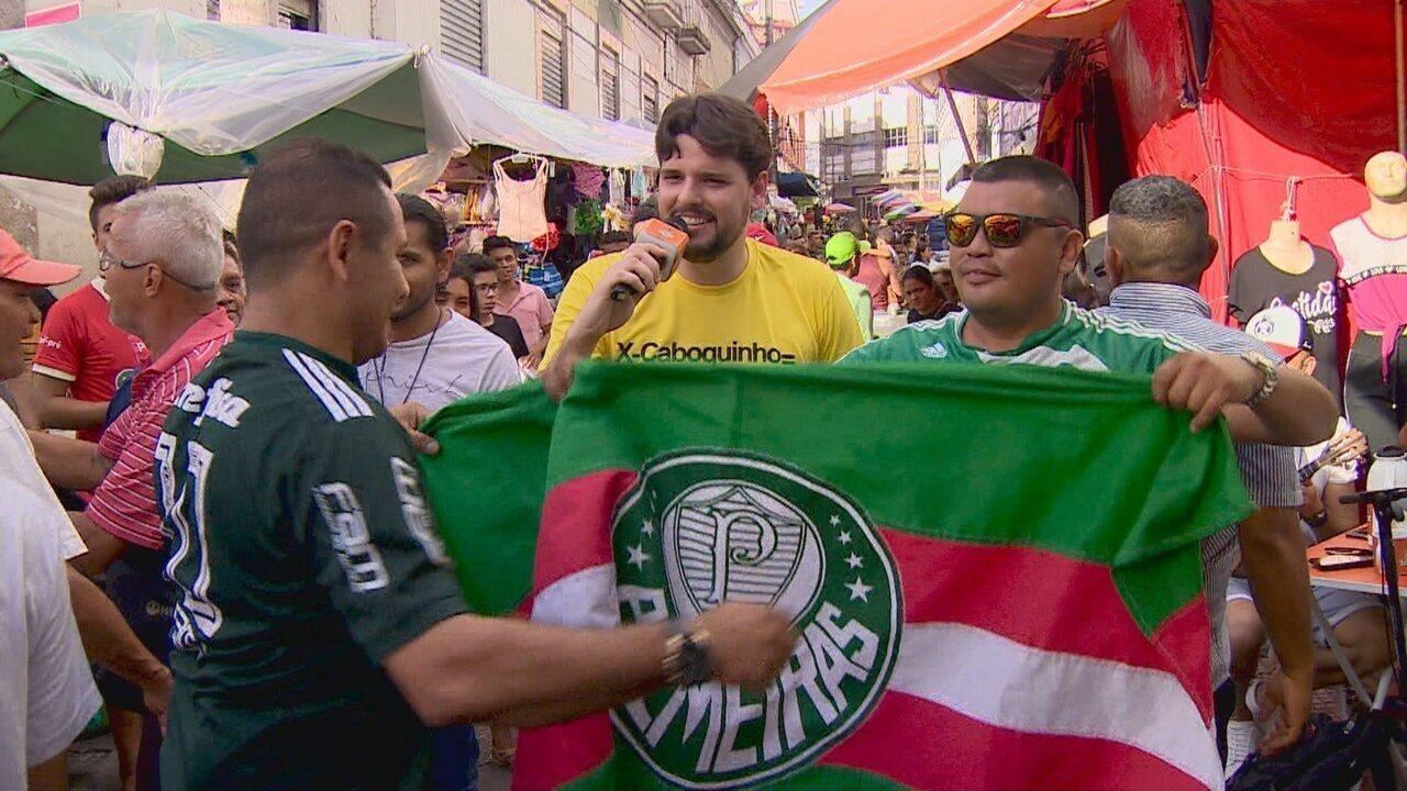 X-Caboquinho com Thiago comenta título do Palmeiras, vice do Fla e Hulk na Libertadores