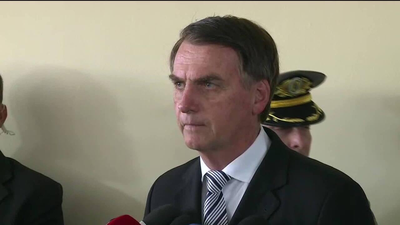 """Bolsonaro: """"Moro terá carta branca para o combate à corrupção"""""""