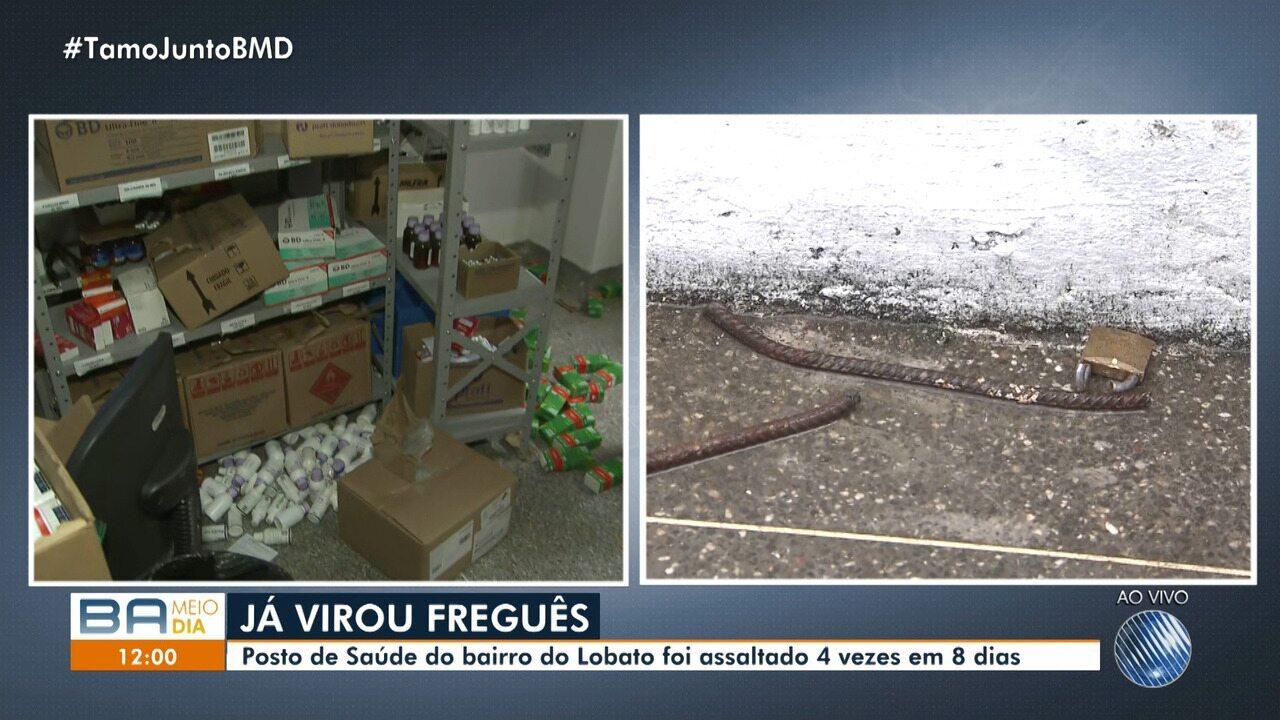 Lotabo: posto de saúde foi assaltado quatro vezes em oito dias