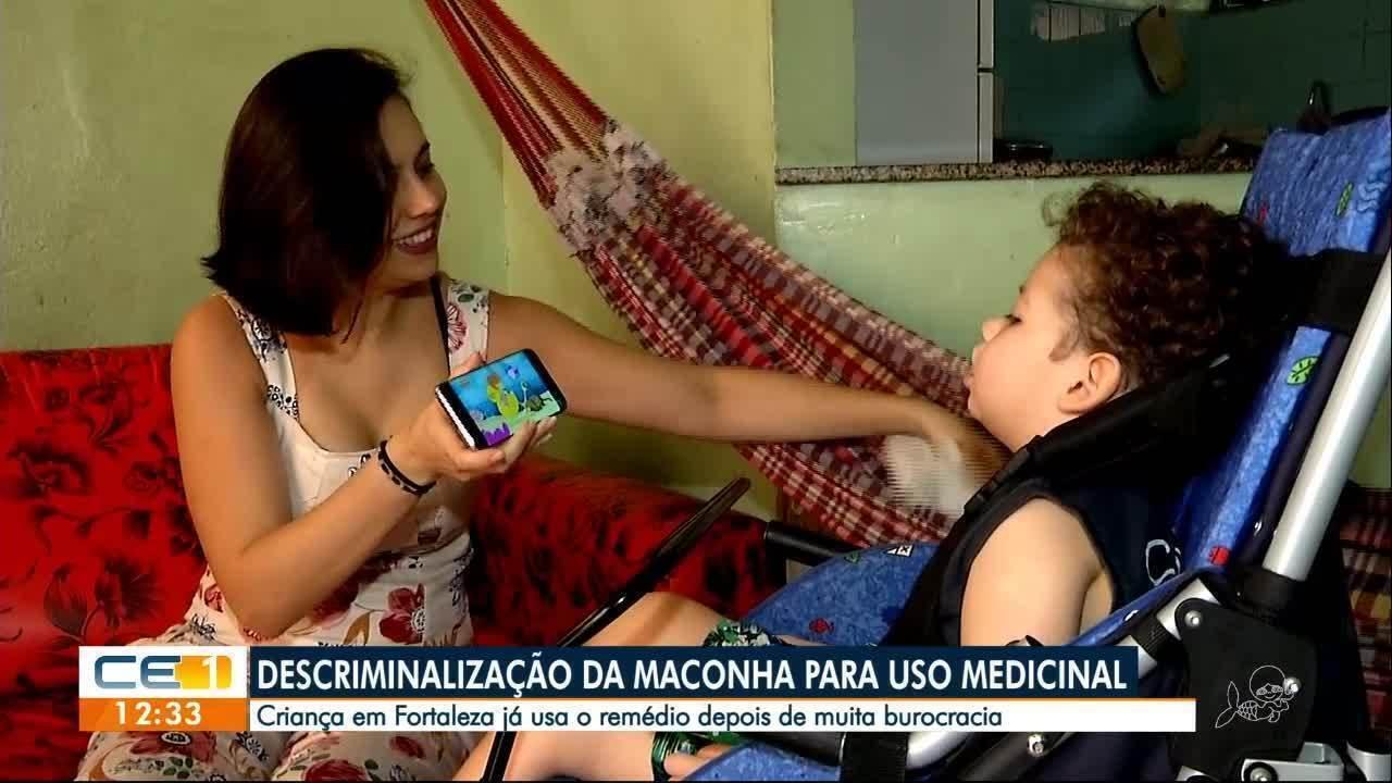 Criança no Ceará faz uso medicional da maconha; produto foi descriminalizado
