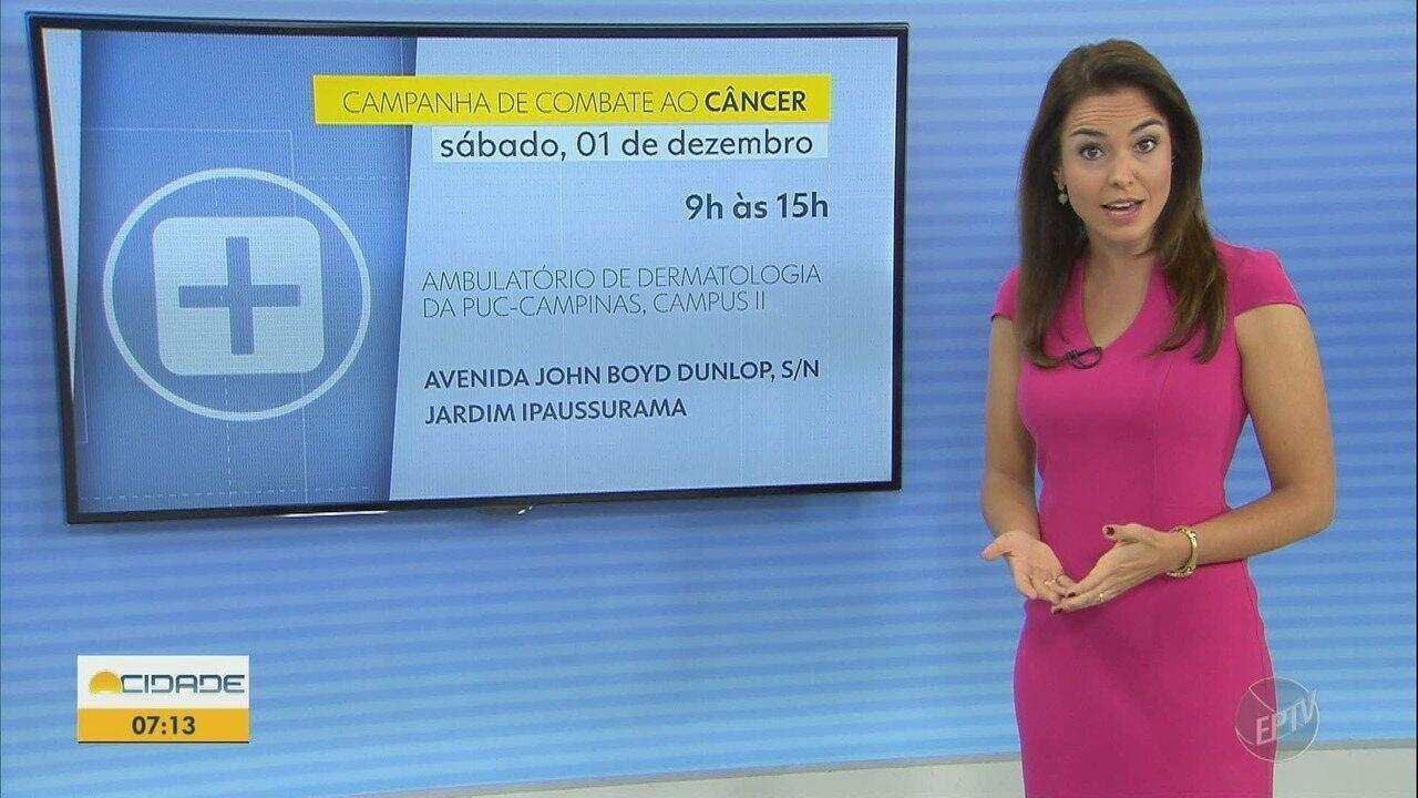 Hospital da PUC-Campinas terá ação de prevenção ao câncer de pele