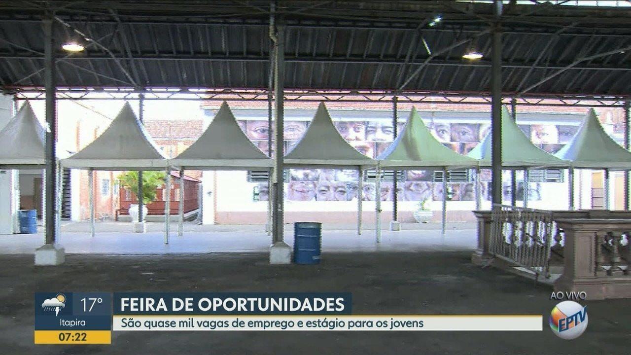 Terceira Semana da Juventude em Campinas terá oportunidades de estágio e trabalho