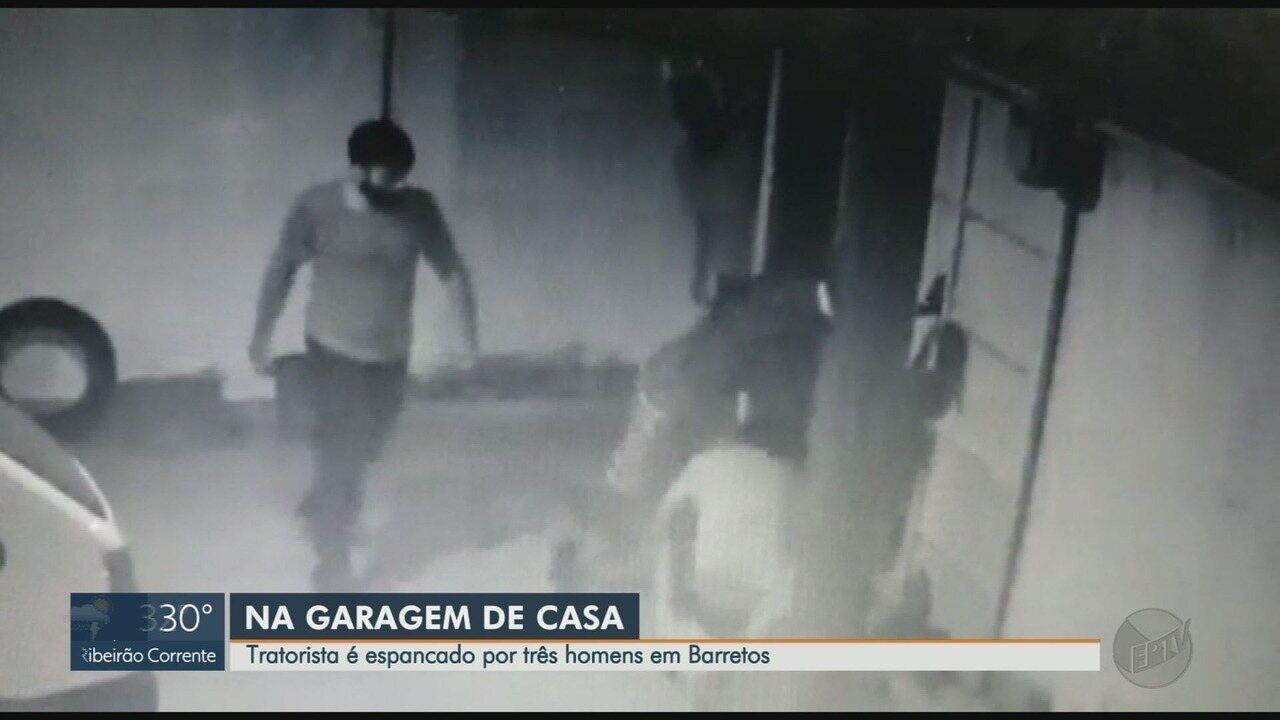 Homem fica em estado grave após ser espancado na garagem de casa em Barretos, SP; vídeo