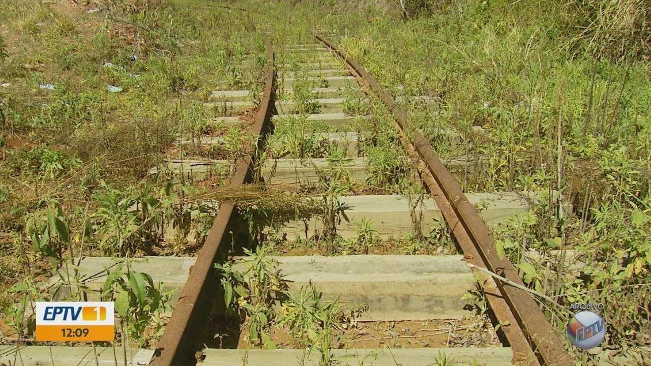 Obras para reativar linha de trem turístico são retomadas em São Sebastião do Rio Verde