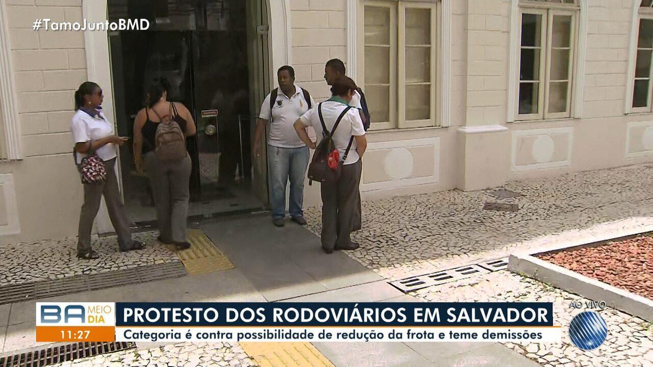 Rodoviários de Salvador realizam protesto nesta sexta-feira (30)