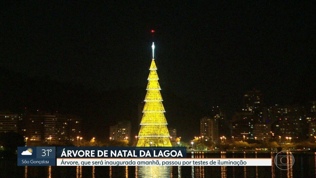 A Árvore de Natal da Lagoa vai ser inaugurada neste sábado